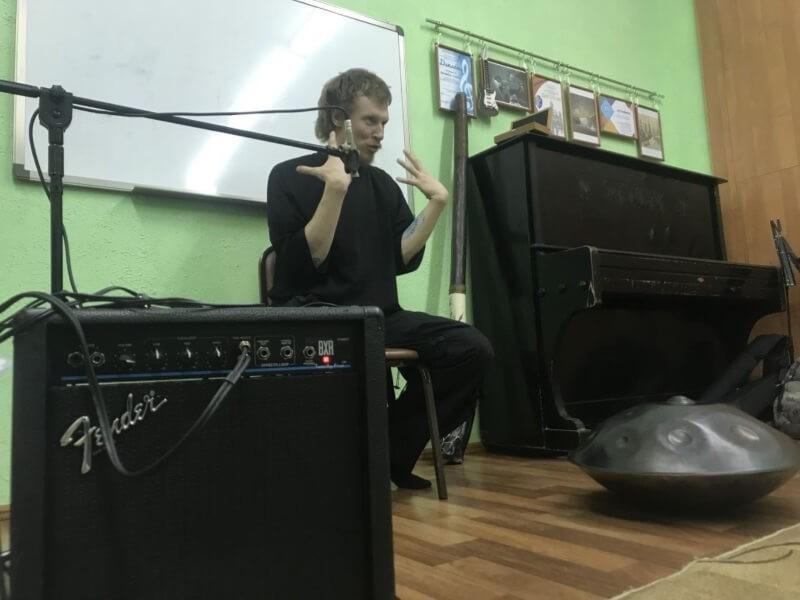 Встреча с Павлом Бочкаревым в Гитар-клубе «Сонет»