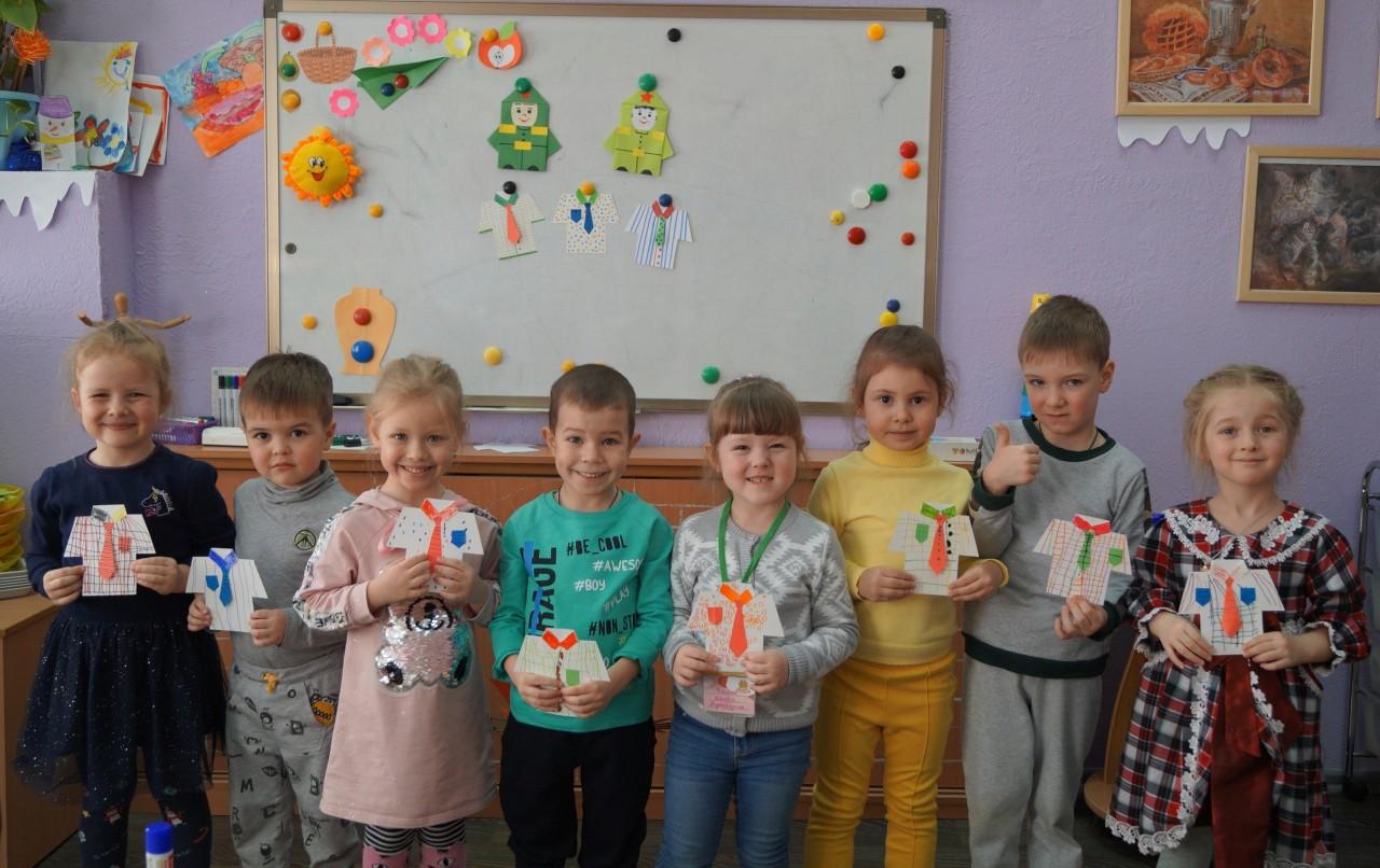 В ЦРР «Сказка» состоялись тематические занятия, посвященные 23 февраля