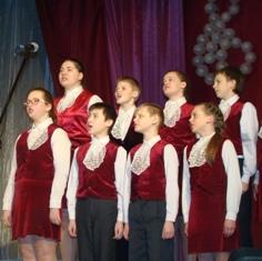 Отчетный концерт образцовой хоровой студии «Камертон»